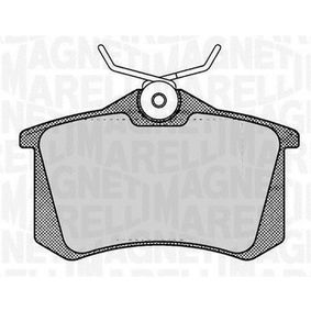 Bremsbelagsatz, Scheibenbremse Höhe 1: 53mm, Dicke/Stärke 1: 15mm mit OEM-Nummer 4406 061 33R