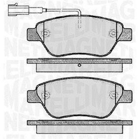 Bremsbelagsatz, Scheibenbremse Höhe 1: 53,4mm, Dicke/Stärke 1: 18mm mit OEM-Nummer 16 17 283 380