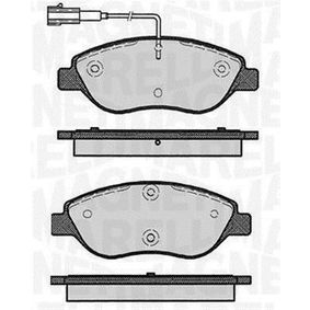 Bremsbelagsatz, Scheibenbremse Höhe 1: 57,4mm, Dicke/Stärke 1: 19mm mit OEM-Nummer 77366489