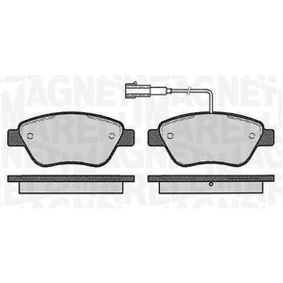 Bremsbelagsatz, Scheibenbremse Höhe 1: 53,4mm, Dicke/Stärke 1: 18mm mit OEM-Nummer 71772221