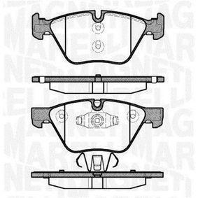 Bremsbelagsatz, Scheibenbremse Höhe 1: 63,3mm, Dicke/Stärke 1: 20mm mit OEM-Nummer 34 11 6 797 859