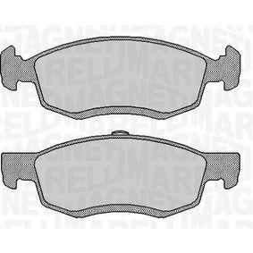 Bremsbelagsatz, Scheibenbremse Höhe 1: 52,5mm, Dicke/Stärke 1: 17,5mm mit OEM-Nummer 41 06 000 Q0C