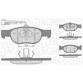 Bremsbelagsatz, Scheibenbremse Höhe 1: 52mm, Dicke/Stärke 1: 18mm mit OEM-Nummer 9947600