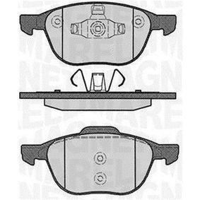 Bremsbelagsatz, Scheibenbremse Höhe 1: 62,3mm, Höhe 2: 67mm, Dicke/Stärke 1: 18,2mm mit OEM-Nummer BPYK-33-23ZA9C