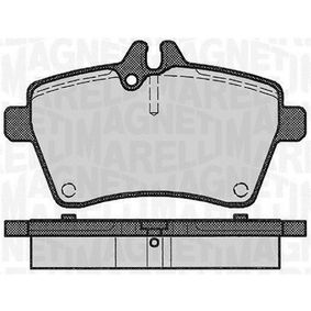 Brake Pad Set, disc brake Height 1: 69,9mm, Thickness 1: 20mm with OEM Number A16 942 00120