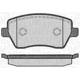 Bremsbelagsatz, Scheibenbremse Höhe 1: 52,4mm, Dicke/Stärke 1: 17mm mit OEM-Nummer 41060-AX625-