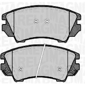 Brake Pad Set, disc brake Height 1: 66,5mm, Thickness 1: 18,8mm with OEM Number 92257988