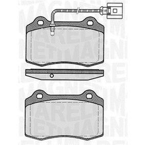 Bremsbelagsatz, Scheibenbremse Höhe 1: 69,3mm, Dicke/Stärke 1: 15mm mit OEM-Nummer 1ML 698 151