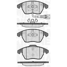 Bremsbelagsatz, Scheibenbremse Höhe 1: 66mm, Höhe 2: 71,3mm, Dicke/Stärke 1: 20,1mm mit OEM-Nummer 3C0.698.151A