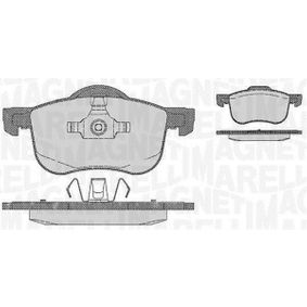 Brake Pad Set, disc brake Height 1: 69mm, Height 2: 72,5mm, Thickness 1: 18,5mm with OEM Number 30776712