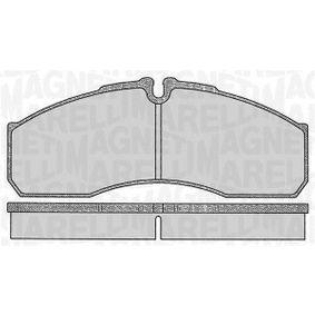 Bremsbelagsatz, Scheibenbremse Höhe 1: 68mm, Dicke/Stärke 1: 20mm mit OEM-Nummer 41060-9X129