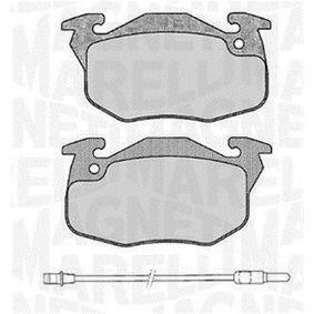 Bremsbelagsatz, Scheibenbremse Höhe 1: 54,3mm, Dicke/Stärke 1: 18mm mit OEM-Nummer 4248.62