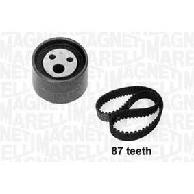 Zahnriemensatz Breite: 17mm mit OEM-Nummer 7701 472 644