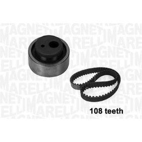 Zahnriemensatz Breite: 17mm mit OEM-Nummer 0831 Q4
