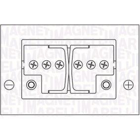 Starterbatterie Polanordnung: DX mit OEM-Nummer 1672942