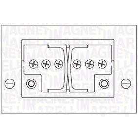 Starterbatterie Polanordnung: DX mit OEM-Nummer 1672941