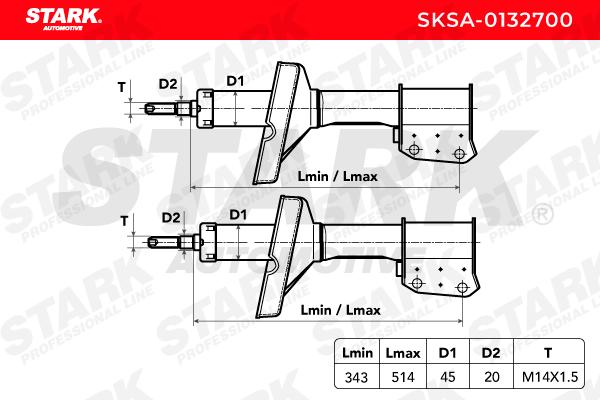 SKSA-0132700 STARK mit 26% Rabatt!