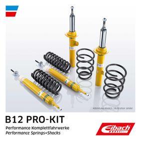 Renault Twingo 2 1.2 Turbo (CN0C, CN0F) Fahrwerkssatz, Federn / Dämpfer EIBACH B12 Pro-Kit E90-75-009-01-22 (1.2 Turbo Benzin 2019 D4F 782)