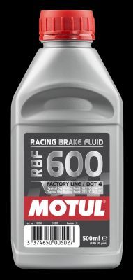 MOTUL  100948 Bremsflüssigkeit Spezifikation nach DOT: DOT 4