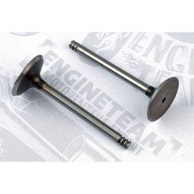 Auslaßventil und Einlaßventil für VW TOURAN (1T1, 1T2) 1.9 TDI 105 PS ab Baujahr 08.2003 ET ENGINETEAM Einlaßventil (VI0051) für