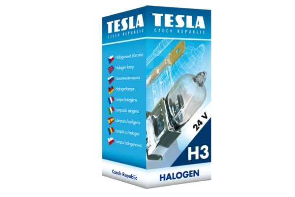 TESLA  B10302 Glühlampe, Fernscheinwerfer