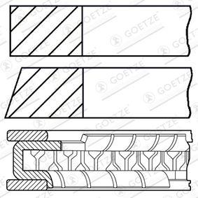 Kolbenringsatz mit OEM-Nummer 030107311M