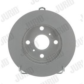 Bremsscheibe Bremsscheibendicke: 18mm, Lochanzahl: 4, Ø: 235mm mit OEM-Nummer 4351252010