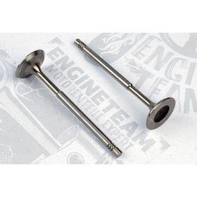Einlassventil Länge: 100,9mm, Ventilteller-Ø: 29,5mm, Ventilschaft-Ø: 6mm mit OEM-Nummer 036 109 601AD