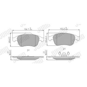 Renault Grand Scenic 3 1.5dCi Blattfeder JURID 573243J (1.5dCi Diesel 2015 K9K 846)