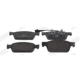 Bremsbelagsatz, Scheibenbremse Höhe 1: 75mm, Dicke/Stärke: 18mm mit OEM-Nummer 7E0698151