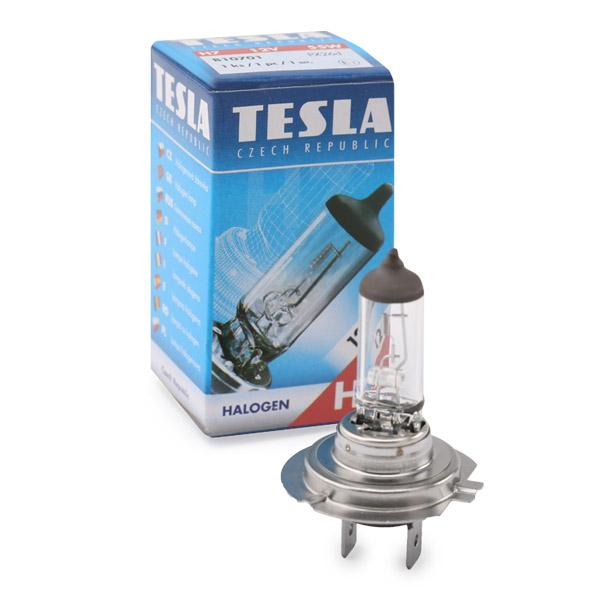 Glühlampe, Fernscheinwerfer B10701 TESLA B10701 in Original Qualität