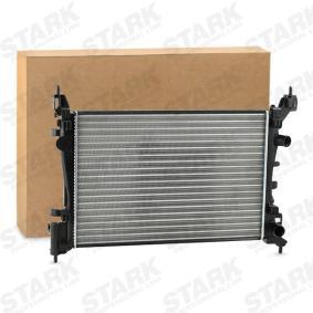 Kühler, Motorkühlung Netzmaße: 540x378x23 mit OEM-Nummer 13 00 279