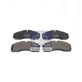 Bremsbelagsatz, Scheibenbremse Breite: 164,9mm, Höhe: 68mm, Dicke/Stärke: 19,9mm mit OEM-Nummer 5001844748