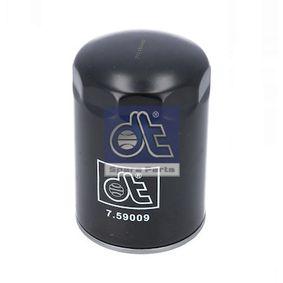 Filtro de aceite 7.59009 Ducato Furgón (250_, 290_) 180 Multijet 3,0 D ac 2014