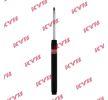 KYB Excel-G Støddæmper foraksel, dobbeltrør, Gastryk, Fjederbensindsats, øverste stift