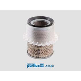 Filtro aria A1583 L 400 Bus (PD_W, PC_W, PA_V, PB_V, PA_W) 2.5 TD 4WD ac 2000