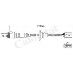 Lambdasonde Kabellänge: 610mm mit OEM-Nummer MD181398
