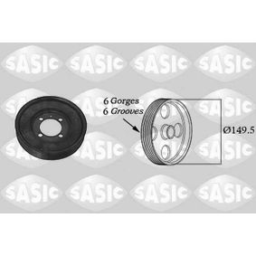 SASIC  2156017 Belt Pulley, crankshaft