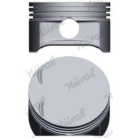 Kolben für OPEL CORSA C (F08, F68) 1.2 75 PS ab Baujahr 09.2000 NÜRAL Kolben (87-102707-10) für