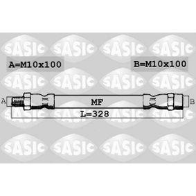 Bremsschlauch Länge: 328mm, Gewindemaß 1: M10X100, Gewindemaß 2: M10X100 mit OEM-Nummer 343211 54904