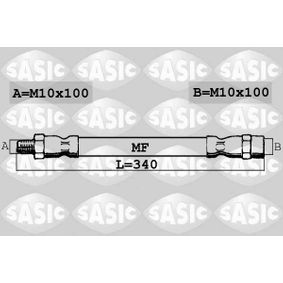 Bremsschlauch Länge: 340mm, Gewindemaß 2: M10X100 mit OEM-Nummer 191611701