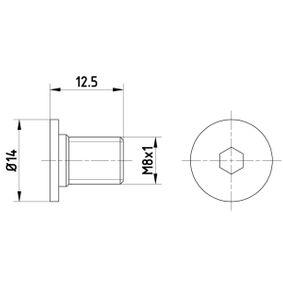 Винт, спирачен диск TPM0002 M-класа (W164) ML 320 CDI 3.0 4-matic (164.122) Г.П. 2006