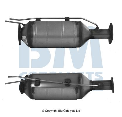 BM CATALYSTS филтър за сажди / твърди частици, изпускателна система за автомобили с резервоар за уреа (AdBlue)  BM11006P