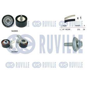Polo 6R 1.6 Spannrolle, Zahnriemen RUVILLE 5638550 (1.6 Benzin 2021 CWVB)