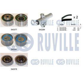 Polo 6R 1.6 Spannrolle, Zahnriemen RUVILLE 56385 (1.6 Benzin 2019 CWVB)