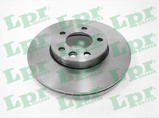 LPR  V2005VR Bremsscheibe Bremsscheibendicke: 29,5mm, Felge: 5-loch, Ø: 308mm
