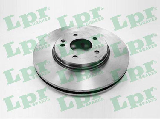 LPR  M2737VR Bremsscheibe Bremsscheibendicke: 28mm, Felge: 5-loch, Ø: 300mm