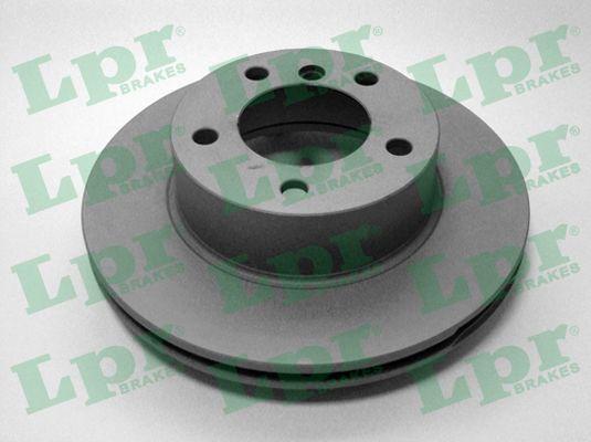 LPR  B2013VR Bremsscheibe Bremsscheibendicke: 22mm, Felge: 5-loch, Ø: 284mm