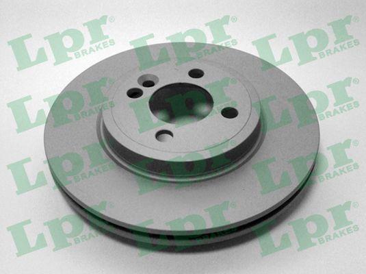 LPR  B2026VR Bremsscheibe Bremsscheibendicke: 22mm, Felge: 4-loch, Ø: 280mm