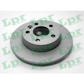 Bremsscheibe Bremsscheibendicke: 10mm, Felge: 5-loch, Ø: 268mm mit OEM-Nummer 7M0.615.601B